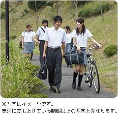 学生服リサイクルイメージ