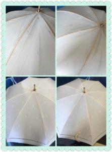 日傘クリーニング